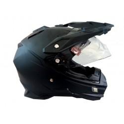 Endurová helma černá mat