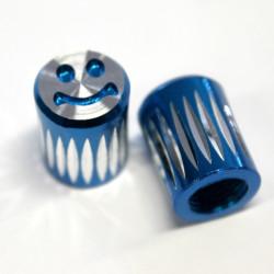 Čepička ventilku - smile modrý
