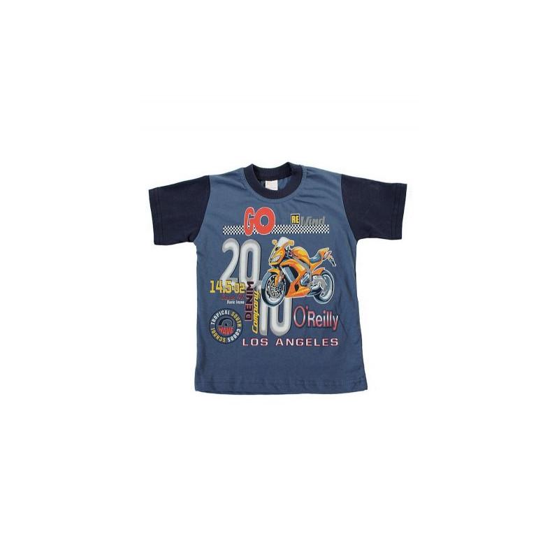 Dětské triko s motorkou - 110