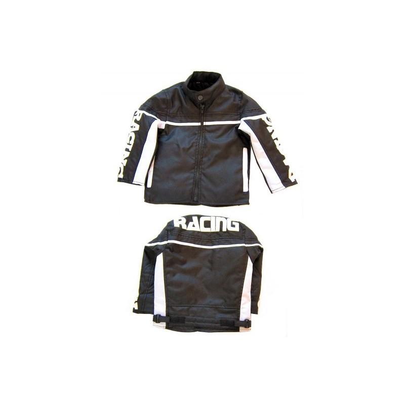 Dětská textilní moto bunda - Racing