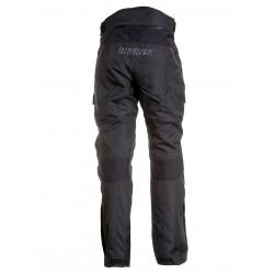 STINGRAY dámské černé - 2v1 textilní kalhoty INFINE